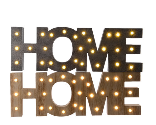 LED Home Holz